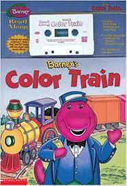 barney u0027s color train scholastic 9781570647130 amazon books