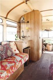 renovated rv design for a simple life renovated vintage campers burlap