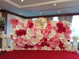 backdrop paper paper backdrop paper flower paper wedding paper flower thailand