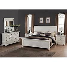 Bed And Nightstand Amazon Com Roundhill Furniture Regitina 016 Bedroom Furniture Set