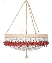 coral beaded chandelier pictures to pin on pinterest pinsdaddy
