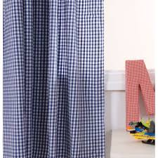 Blue And White Gingham Curtains Navy Gingham Curtains Kids Bedding U0026 Curtains Ginger U0026 May