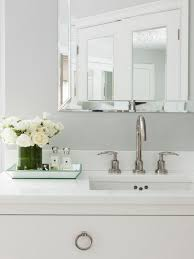 Beveled Mirror Bathroom Susan Glick Interiors Bathrooms Beveled Mirror Bathroom
