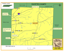 Tennessee Highway Map by Fayette County Tennessee Century Farms