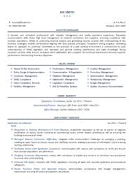 Narrative Resume Template Resume Services Professional Resume Facilities Manager