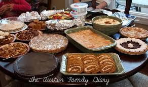 traditional thanksgiving dessert themontecristos