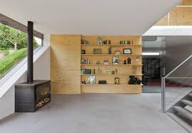 home design elements minimalist home uses pine ply as feature design element