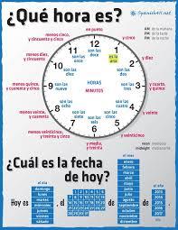 16 best spanish la hora images on pinterest clock worksheets