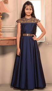 buy kids girls readymade party wear gowns dresses online fh00021021