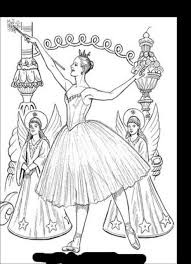sugar plum fairies coloring pages