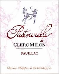 second wine chateau clerc milon unveils pastourelle de clerc milon its second