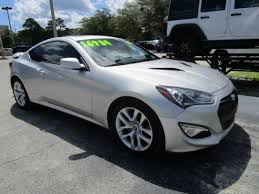silver hyundai genesis coupe silver hyundai genesis in florida for sale used cars on