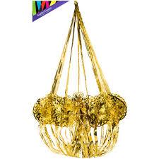 Streamer Chandelier Gold Foil Chandelier Hobby Lobby 1095181