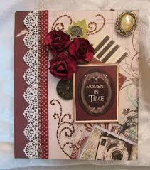 handmade scrapbook albums tphh handmade bo bunny heritage waterfall folio mini scrapbook