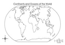 continents and oceans of the world worksheet phoenixpayday com