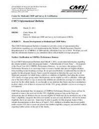 facilitating medicaid and chip enrollment and renewal in 2014