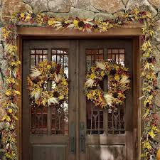 fall garland fall leaf garland williams sonoma