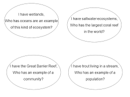 habitat and ecosystem i have who has cards ppt download