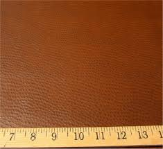 Ostrich Upholstery V142 Ostrich Patterned Vinyl Upholstery Fabric Color Chocolate