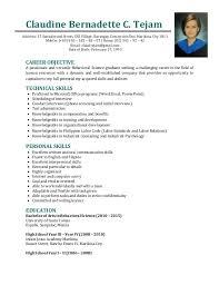 Resume Espanol Updated Tejam Resume