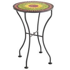 Pier One Imports Bar Stools Sunflower Mosaic Accent Table Pier 1 Imports