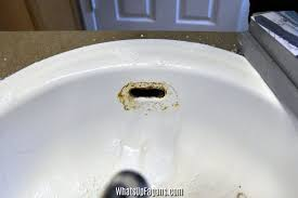 remove rust from sink how to remove rust stains on your porcelain sink