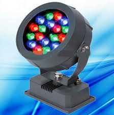 programmable led flood lights 18w dmx round led spotlight programmable project light