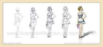 how to draw model fashion illustrations by igor lukyanov