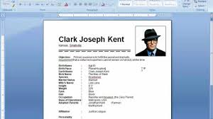 Resume Samples Youtube by Ms Word Tutorial How To Insert Picture In Resume Youtube Resume