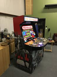 finally finished my walking dead themed 4 player arcade cabinet