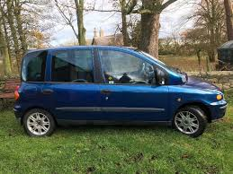 fiat multipla for sale a well used fiat multipla but with low mileage for its age u0026 an