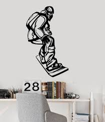 vinyl wall decal snowboard extreme winter sports kids room decor vinyl wall decal snowboard extreme winter sports kids room decor stickers ig3161