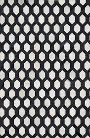 Black White Area Rug Black And White Rug Modern Rugs