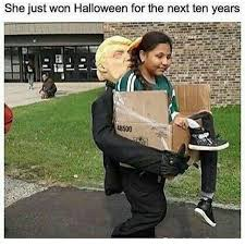 funny halloween meme lol but seriously he u0027s not going to deport the legal ones not