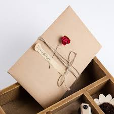 wedding invitations kraft paper 10pcs 7style flower diy retro kraft paper envelope flower