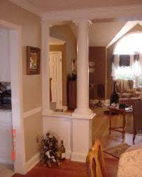 half wall column want to do this to our dining room that u0027s so
