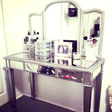 makeup vanity table without mirror vanity mirror and desk thesocialvibe co