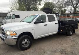 dodge ram 3500 flatbed 2012 dodge ram 3500 flatbed utility truck in tomball