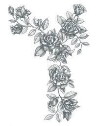 black roses arm shoulder leg piece temporary tattoo u2013 tattooednow