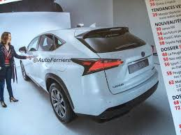all new lexus nx compact lexus cars news lexus nx compact suv leaked ahead of debut