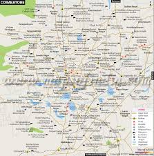 tamil nadu map coimbatore city map