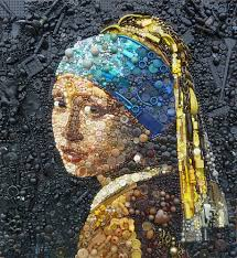The Most Famous Paintings Bado U0027s Blog Artist Re Creates Iconic Portraits With Thousands Of