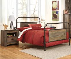 Ashley Bed Frames by Trinell B446 Full Size Metal Bed Ashley Kids Furniture Kids