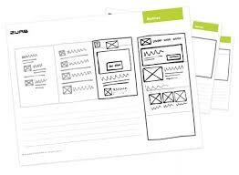 responsive sketchsheets playground from zurb