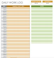 Restaurant Employee Schedule Template Excel by Free Daily Schedule Templates For Excel Smartsheet