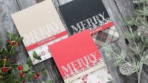 create your own christmas cards with shari carroll youtube