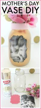 mothers days gifts birthday gifts easy s day photo vase craft this is a