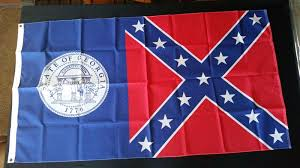 Ga State Flags Flags U0026 Pennants Historical Memorabilia Collectibles