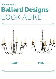 home depot black friday ballard ballard designs cossette chandelier look alike southern savers