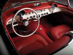 1953 chevrolet corvette c1 interior and dashboard pinterest